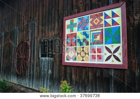 Barn quilt by Jackie DeBusk