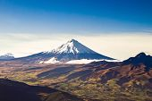 Постер, плакат: Вулкан Котопахи Эквадор воздушные выстрелил
