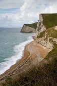 View from Durdle Door