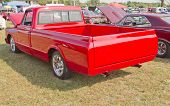 1970 Red Chevy Truck