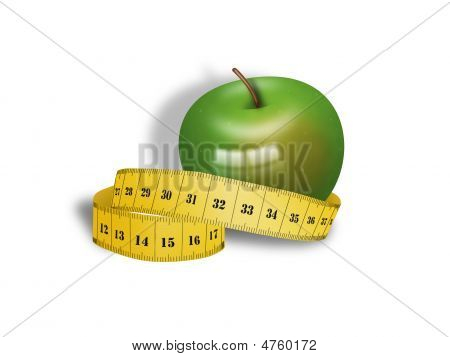 Delicious And Healthy Apple