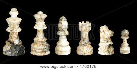 Broken Marble Chess