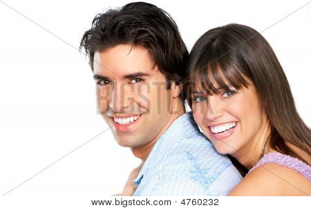 Happy Smiling Couple