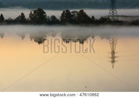 Misty Autumn Morning, Moskva River