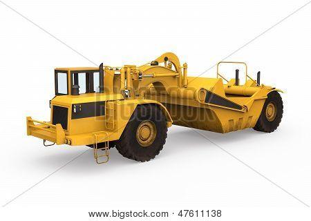 Rad-Traktor-Spachtel