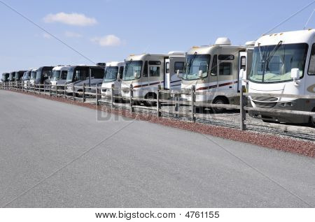 Many Recreation Vehicles