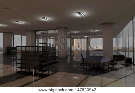 Downtown Office Room