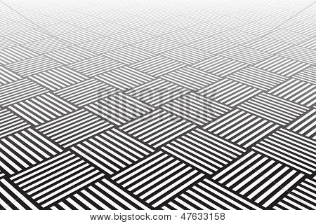 Textured checked surface. Abstract geometric background. Vector art.