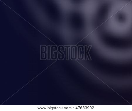circular dark blue background