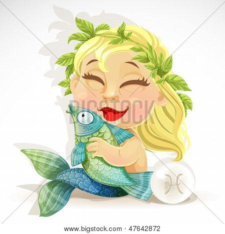 Baby Zodiac - Zeichen Fische