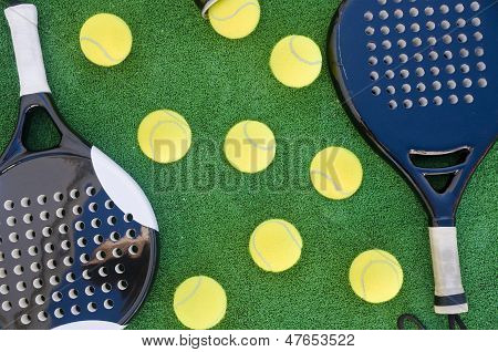 Paddle Tennis Background