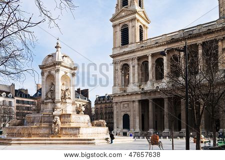 Fountaine Saint-sulpice, Paris