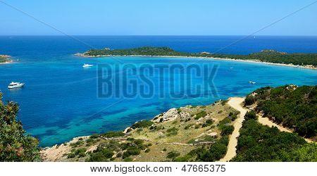 Capo Coda Cavallo beach