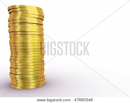 Rouleau Of Gold Dollars