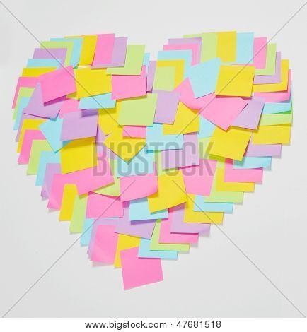 posit in heart