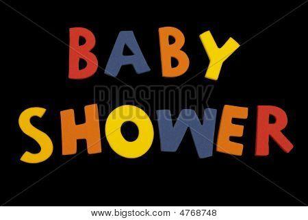 Word Baby Shower