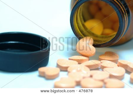 Pills From Bottle