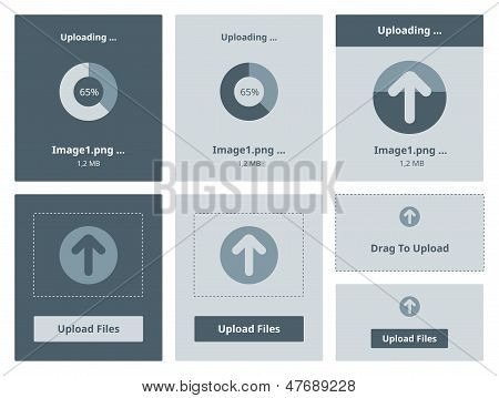 Upload Vector Interface
