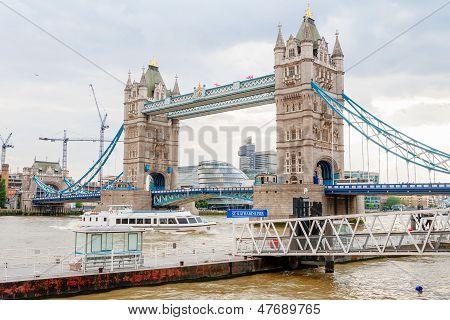 Tower Bridge. London, Uk