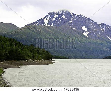 Eklutna lake Alaska