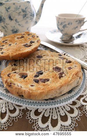 Toasted Teacakes unbuttered