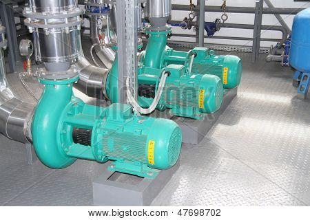 Group Of Pumps
