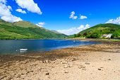 foto of bute  - Stunning scenery at Loch Long Argyll and Bute Scotland - JPG