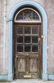 stock photo of passy  - close up of an old doorway in Ireland