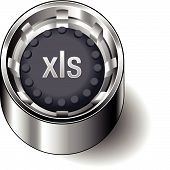 Rubber-Button-Round-Document-File-Type-XLS