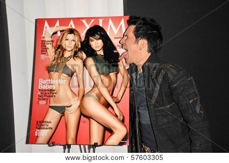 Hal Sparks at the Maxim Cover party featuring Tricia Helfer and Grace Park, MI6, West Hollywood, CA.  10-20-09