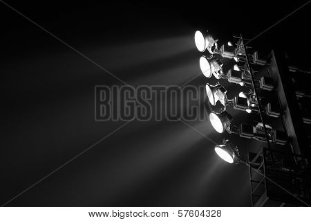 The Stadium Spot-light Tower