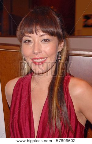 Alyssa Lobit at the Hollywood Film Festival screening of