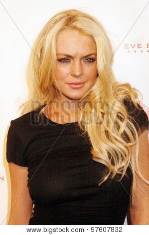 Lindsay Lohan at the Rock The Kasbah Gala to benefit Virgin Unite and the Eve Branson Foundation. Vibiana, Los Angeles, CA. 10-26-09