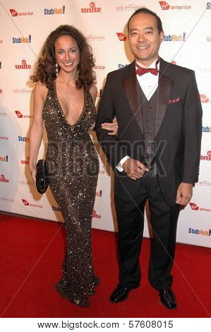 Ruthie Bram and Dr. Raymond King at the Rock The Kasbah Gala to benefit Virgin Unite and the Eve Branson Foundation. Vibiana, Los Angeles, CA. 10-26-09