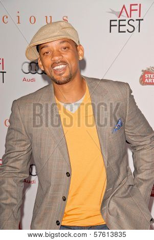 Will Smith at the AFI Fest Premiere of 'Precious,' Chinese Theater, Hollywood, CA. 11-01-09