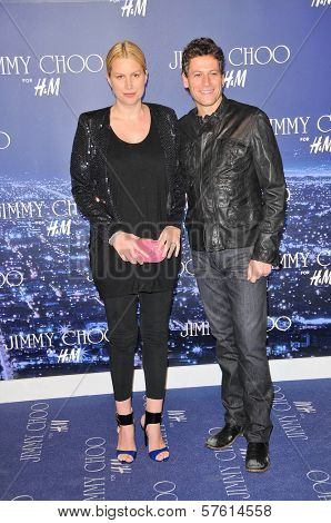 Alice Evans and Ioan Gruffudd at the Jimmy Choo For H&M Collection, Private Location, Los Angeles, CA. 11-02-09