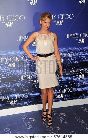 Maggie Grace at the Jimmy Choo For H&M Collection, Private Location, Los Angeles, CA. 11-02-09