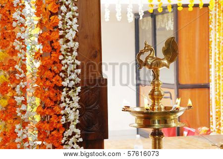 A kerala wedding flower decoration image id57616073 a kerala wedding flower decoration picture junglespirit Image collections
