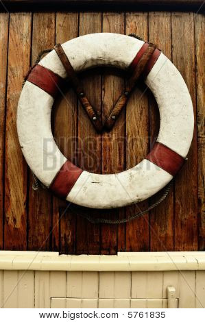 Antique Rescue life buoy