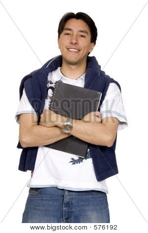 Casual Male Student
