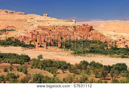 Old village Ait-Ben-Haddou in morocco