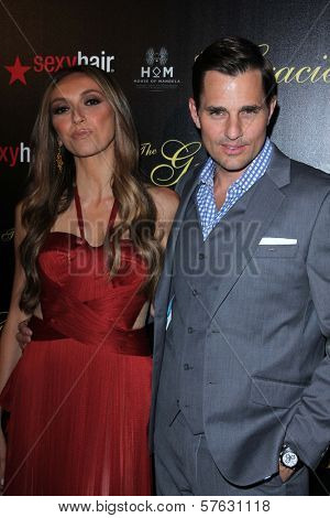 Giuliana Rancic, Bill Rancic at the 2012 Gracie Awards Gala, Beverly Hilton Hotel, Beverly Hills, CA 05-22-12