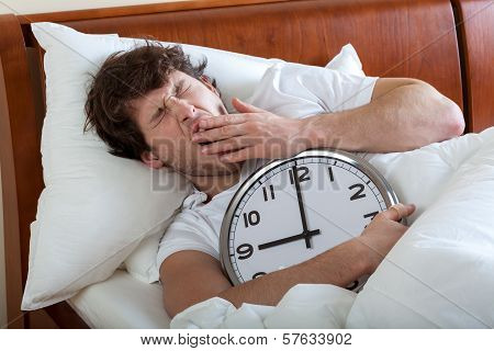Man Waking Up