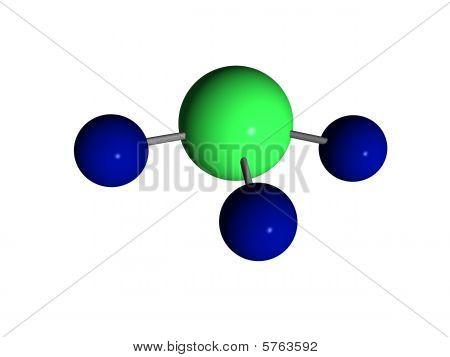 Molecule - ammonia - NH3