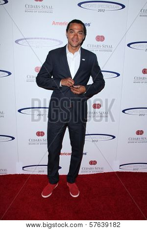 Jesse Williams at the 27th Anniversary Of Sports Spectacular, Century Plaza, Century City, CA 05-20-12