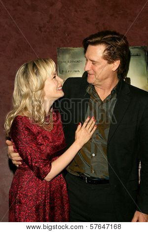 Pell James and Bill Pullman at the Los Angeles Premiere of 'Surveillance'. The Landmark, Los Angeles, CA. 06-15-09