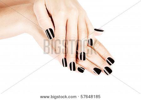 Woman's  manicure