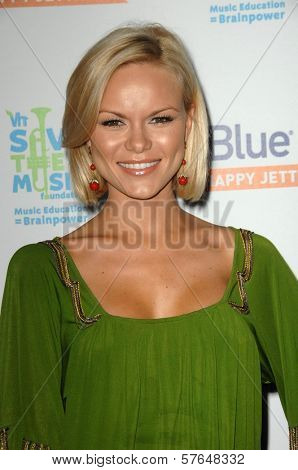 Anya Monzikova  at the JetBlue Airways and VH1 Save the Music Party. MyHouse, West Hollywood, CA. 06-17-09