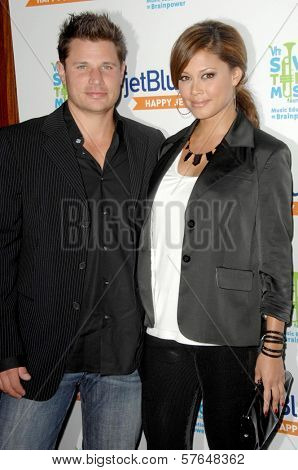Nick Lachey and Vanessa Minnillo  at the JetBlue Airways and VH1 Save the Music Party. MyHouse, West Hollywood, CA. 06-17-09