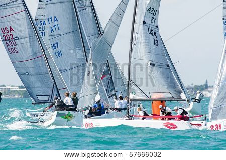 Bacio, Finishes In The Top 10 At Melges 20 World Championships